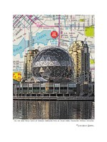 Science World Vancouver Fine Art Print
