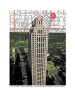 191 Peachtree Tower Fine Art Print