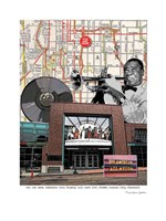 Jazz Museum Kansas City Fine Art Print