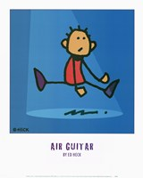 Air Guitar Fine Art Print