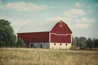 Blissful Country VI Crop Fine Art Print