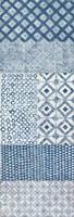 Maki Tile Panel II Framed Print