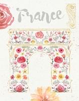 Paris Blooms II Fine Art Print