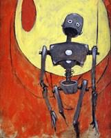 Iron Bot Fine Art Print