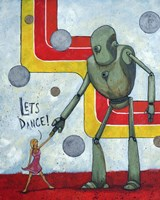 Let's Dance Fine Art Print