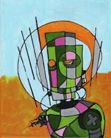 Segmented Man II Fine Art Print