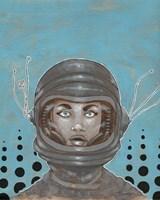 Sally-Saturn Fine Art Print