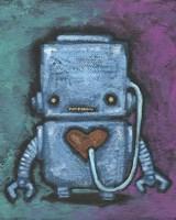 Weebot-Heart Fine Art Print