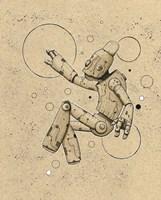 Floatbot Fine Art Print