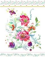 Sophisticated Flowers II Fine Art Print