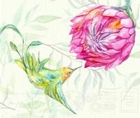 Tropical Garden II Fine Art Print