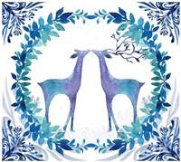 Winter Tales Deer Fine Art Print