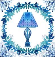 Winter Tales Lamp Fine Art Print