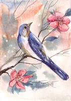 Watercolor Bird Fine Art Print