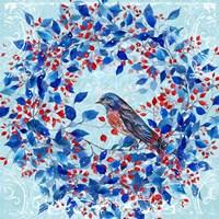 Blue Bird I Framed Print
