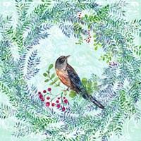 Blue Bird Ii Framed Print