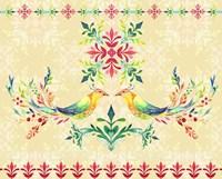 Colorful Birds I Framed Print