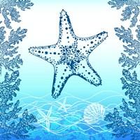 Ocean I Framed Print