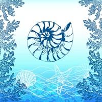 Ocean II Framed Print