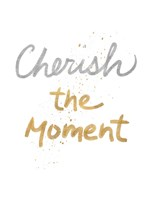 Cherish On White Fine Art Print