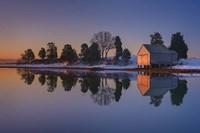 Winter Reflection Fine Art Print