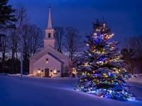 New England Christmas Fine Art Print
