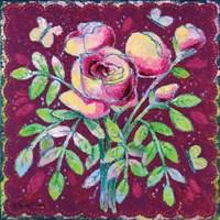 Rosy Romance Fine Art Print