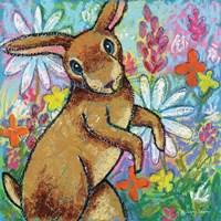 Bunny Dance Fine Art Print