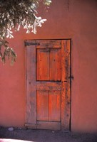 Red Door Fine Art Print