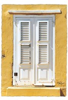 Beach House Shutters Fine Art Print