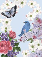 Bird Garden I Fine Art Print