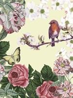 Bird Garden II Fine Art Print