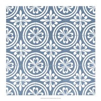 Chambray Tile II Fine Art Print