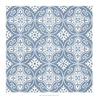 Chambray Tile IV Fine Art Print