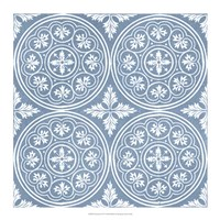 Chambray Tile V Fine Art Print