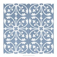 Chambray Tile VI Fine Art Print