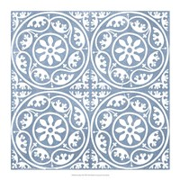 Chambray Tile VIII Fine Art Print