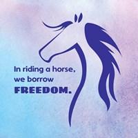Horse Quote 3 Fine Art Print