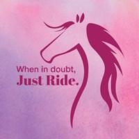 Horse Quote 5 Fine Art Print
