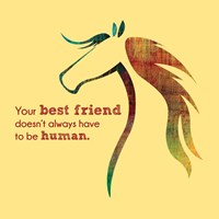 Horse Quote 10 Fine Art Print