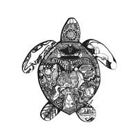 Goodbye Sea Turtle Fine Art Print