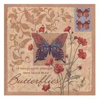 Yay for Butterflies Fine Art Print