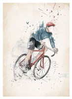 I Want to Ride My Bicycle Fine Art Print