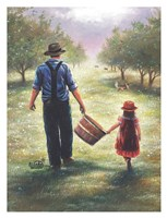 Dad's Helper Fine Art Print