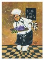Hug the Chef Fine Art Print