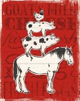 Farmers Market V Fine Art Print