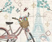 Paris Tour I Framed Print