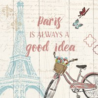 Paris Tour IV Fine Art Print
