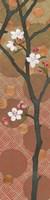 Cherry Blossoms Panel II Crop Framed Print
