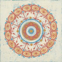 Lakai Circle I Framed Print